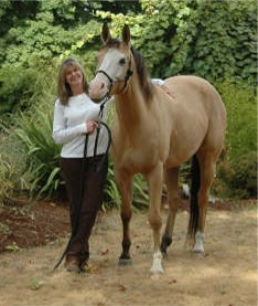 Debra Ross and her horse Tana
